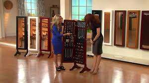 gold silver safekeeper mirrored jewelry cabinet by lori greiner with lisa robertson