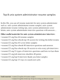 As400 Administration Sample Resume Adorable Unix Manager Resume Theaileneco