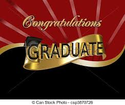 congratulations to graduate congratulations graduate graphic red and black digital art with 3d
