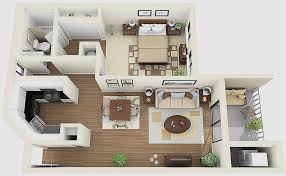 1 Bedroom Apartments Chicago Of Modern House Luxury 1 Bedroom Apartment  House Plans