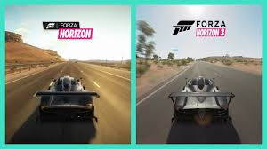 Forza Horizon vs Horizon 3 | Pagani Zonda R Sound Comparison Side ...