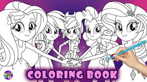 Cooloring Book 41 My Little Pony Equestria Girls Coloring Image