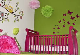 Pink And Green Bedroom Pink And Green Baby Room Home Design Ideas