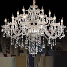 crystal chandelier light luxury modern lamp chandelier lighting champagne 1 of 6free