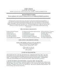 New Grad Nurse Resume Ob Nurse Resume New Grad Nurse Practitioner ...