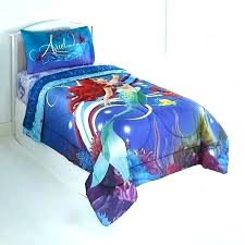 little mermaid bedding twin the set medium size of comforter toddler aid t