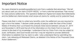pocket hose false advertising class action settlement screen shot 2016 12 20 at 12 29