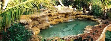 Custom Rock Swimming Pools Custom Swimming Pool and Spas Palm
