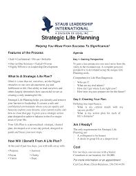 Life Planning Templates Strategic Life Plan Templates At Allbusinesstemplates Com