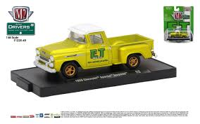 M2 Machines Drivers Release 49 1/64 - 1958 Chevy Apache Pickup Truck ...