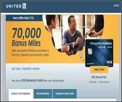 chase united mileage plus credit card login all about finance