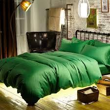 green duvet cover queen.  Cover 60S Egyptian Cotton Sateen Woven Fabric Emerald Green Duvet Cover Bed Queen  Bedspread King Bedding Sets Quilt Blanket Coverin Bedding Sets From Home  On Green Duvet Cover Queen