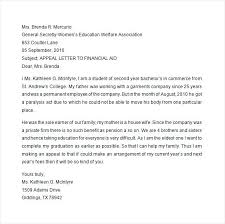 Financial Aid Appeal Letter Template Elegant Format Gallery