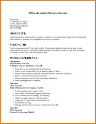 General Office Clerk Sample Resume 20 Assistant Manager Duties Job