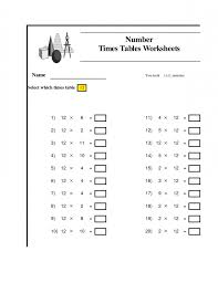 Multiplication Worksheets 9 Times Tables - 100 Vertical Questions ...