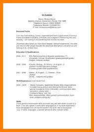 What To Write In Profile On Resume 9 10 Skills Profile Resume Examples Samples