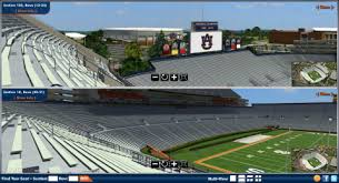 Auburn Releases Website Featuring New 3d Seating Map Of