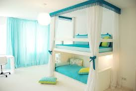 Bedroom Designs For Girls With Bunk Beds For Modern Style Cool