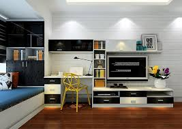 wall unit desk combo wall units with desk tv and bookshelves american hwy for wall unit