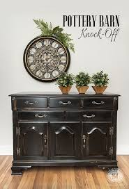 pottery barn knock off furniture. Tips On How To Create Distressed Black Pottery Barn Finish Dated Furniture Diypotterybarnblackfurniturefinishtxt And Knock Off