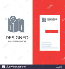 Directions Template Map Location Directions Location Grey Logo Design And