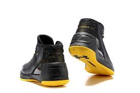 under armour basketball shoes stephen curry 3. 2017 new under armour stephen curry 3 iii black / yellow mens basketball shoes