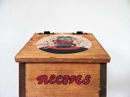 Coffee Kitchen Theme Decor Recipe Boxwooden Recipe Boxcoffee Decorcoffee Kitchencoffee