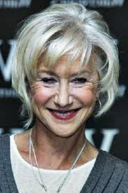 give star for hairstyles for women over 60 with gray hair photos above