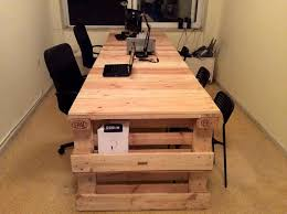 pallet furniture desk. wooden pallet office desk furniture
