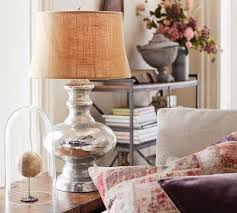 mercury glass table lamp base