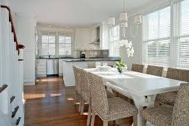 white washed dining room furniture. Top White Washed Dining Room Furniture In Within Wicker Chairs With Amazing Kitchen Design Ideas