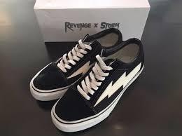 Revenge X Storm Vans Old School Clothing Shoes