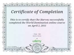 Certificate Of Completeion How Can We Get Certificates In Udemy Quora