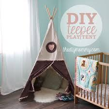 How to Sew a DIY Teepee Play Tent