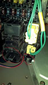 fuse box help pics included s2000 forums but it seemed as if it were too short to reach to the end of the box to be connected anyone know if these need to be connected or not