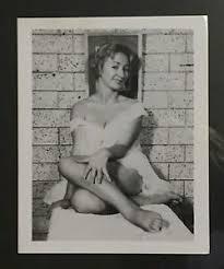 Vintage B w Photo Risque Pin Up Girl leggy Pose Girl Next Door     eBay
