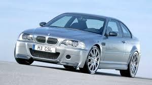 BMW M3 CSL Concept E46 '09 2001 - YouTube