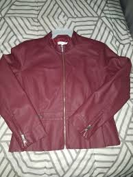 new york and company leather jacket