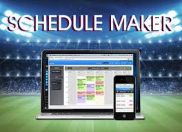 Sports Team Schedule Maker Automated Sports Schedule Maker Web League Manager