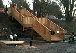 Out door staircases outdoor use