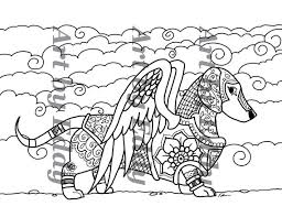 Adult Coloring Dachshund Coloring Pages Dachshund Coloring Pages