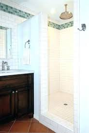 awesome installing a shower pan replace fiberglass shower with tile installing a shower pan enlarge picture