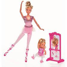 """<b>Кукла Штеффи</b> и кукла Еви, набор """"Школа балета"""", 29 см, 12 см ..."""