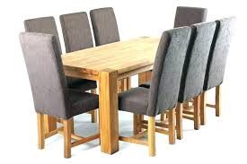 light oak dining table small and chairs set room extending din