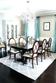 dining table rugs should you put a rug under room for