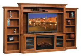 cavalier entertainment center with fireplace
