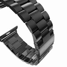Designer 38mm Apple Watch Bands Stainless Steel Strap Classic Buckle Adapter Link Bracelet Designer Women Watch Bands For Apple Watch Bands 38mm 42mm Space Gray