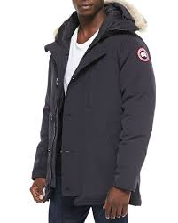 Canada Goose Chateau Parka w Fur Trimmed Hood, Navy