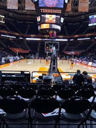 Thompson Boling Arena Section 113 Home Of Tennessee Volunteers