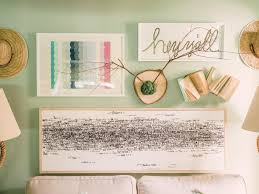 bedroom attractive style of cute diy room decor using twing attached on wooden as wall